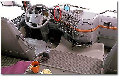 Pour les amateurs de scania for Camion americain interieur