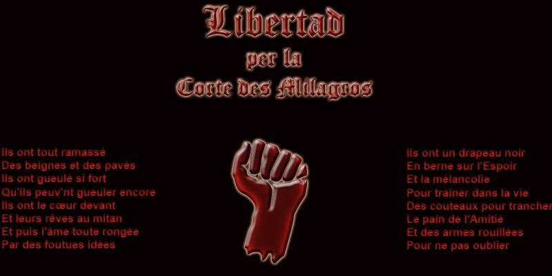 Libertad, pour la Cour des Miracles