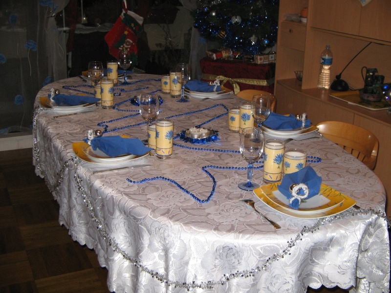 Des id es pour la table la d co for Decoration jour de l an