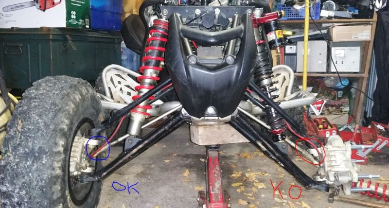 Front Shocks ELKA STAGE 4 - Club700XX - Honda TRX700XX Forum
