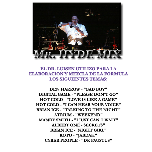 Mr. Hyde Mix (Mixed By Dr. Luisen)