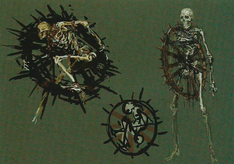 Bonewheel Skeleton