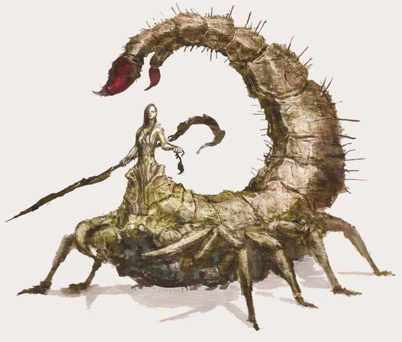 Scorpioness Najka
