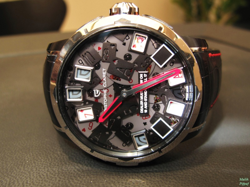 21 blackjack watch by christophe claret