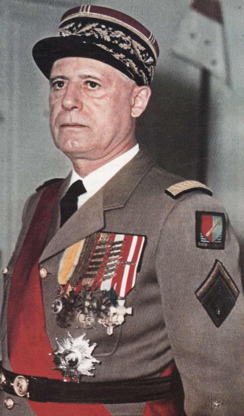 Le général d'armée salan