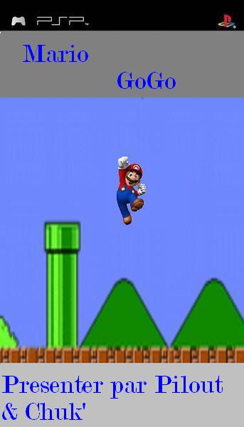 Mario GoGo 0.1  Mon premier jeu lua nbbapp11