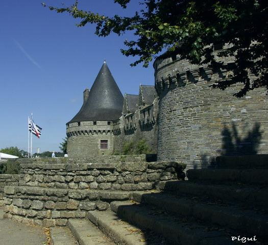 Château de Pontivy dit Château des Rohans.3/4 dans Bretagne p9161619