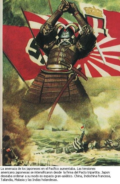Cartel de propaganda japonesa