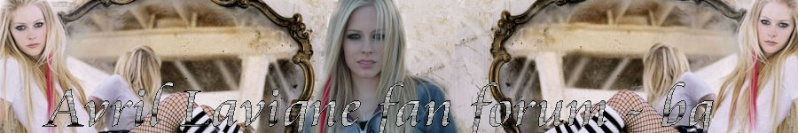 Avril Lavigne fan forum BG