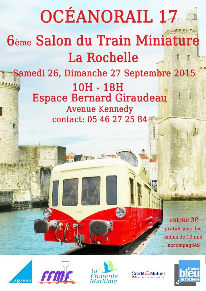 Oceanorail 17 6 me salon du train miniature la rochelle for Salon habitat la rochelle