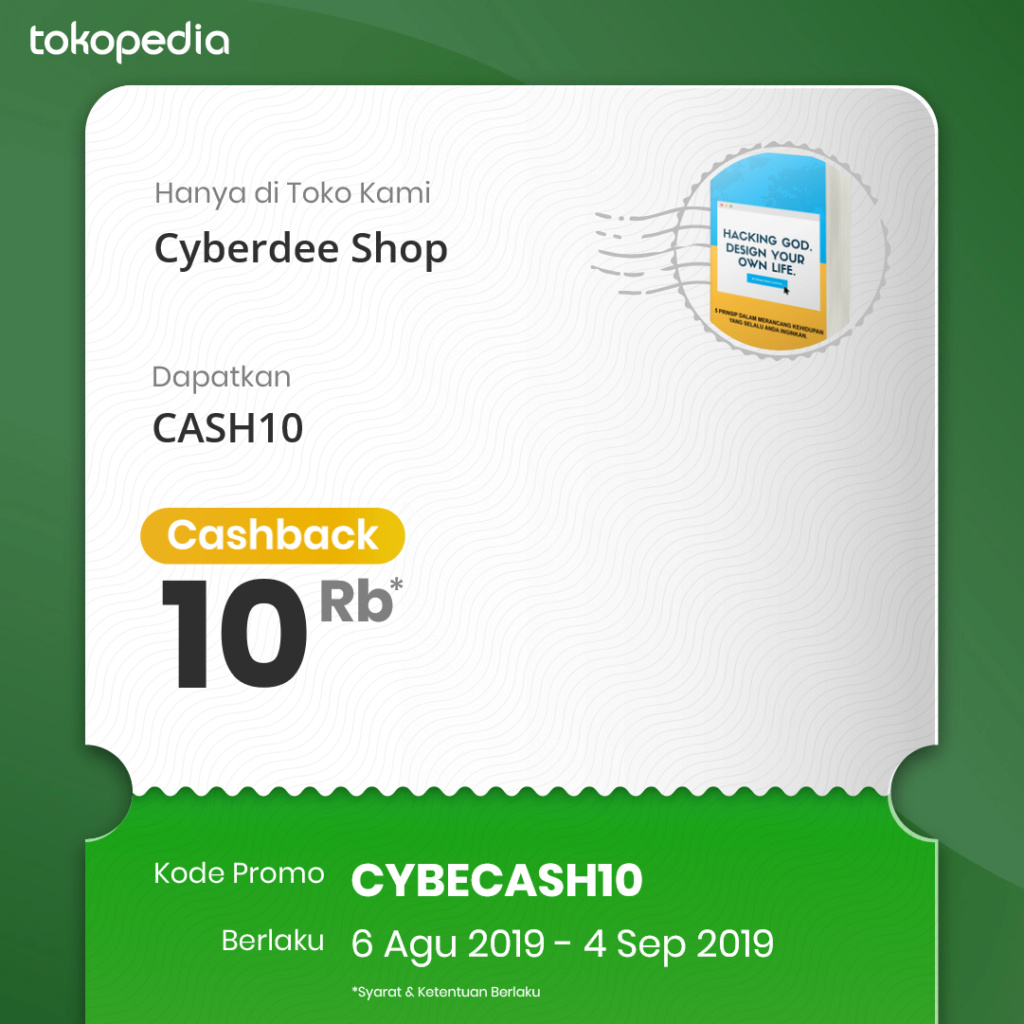 Cashback 10%