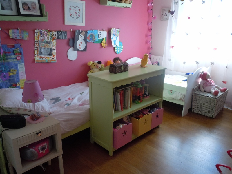 Agencement chambre de filles for Idee agencement chambre