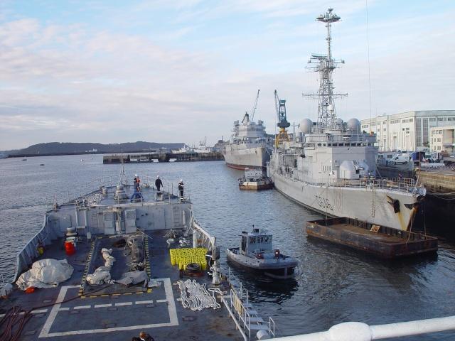 les ports militaires de m 233 tropole port de brest page 15