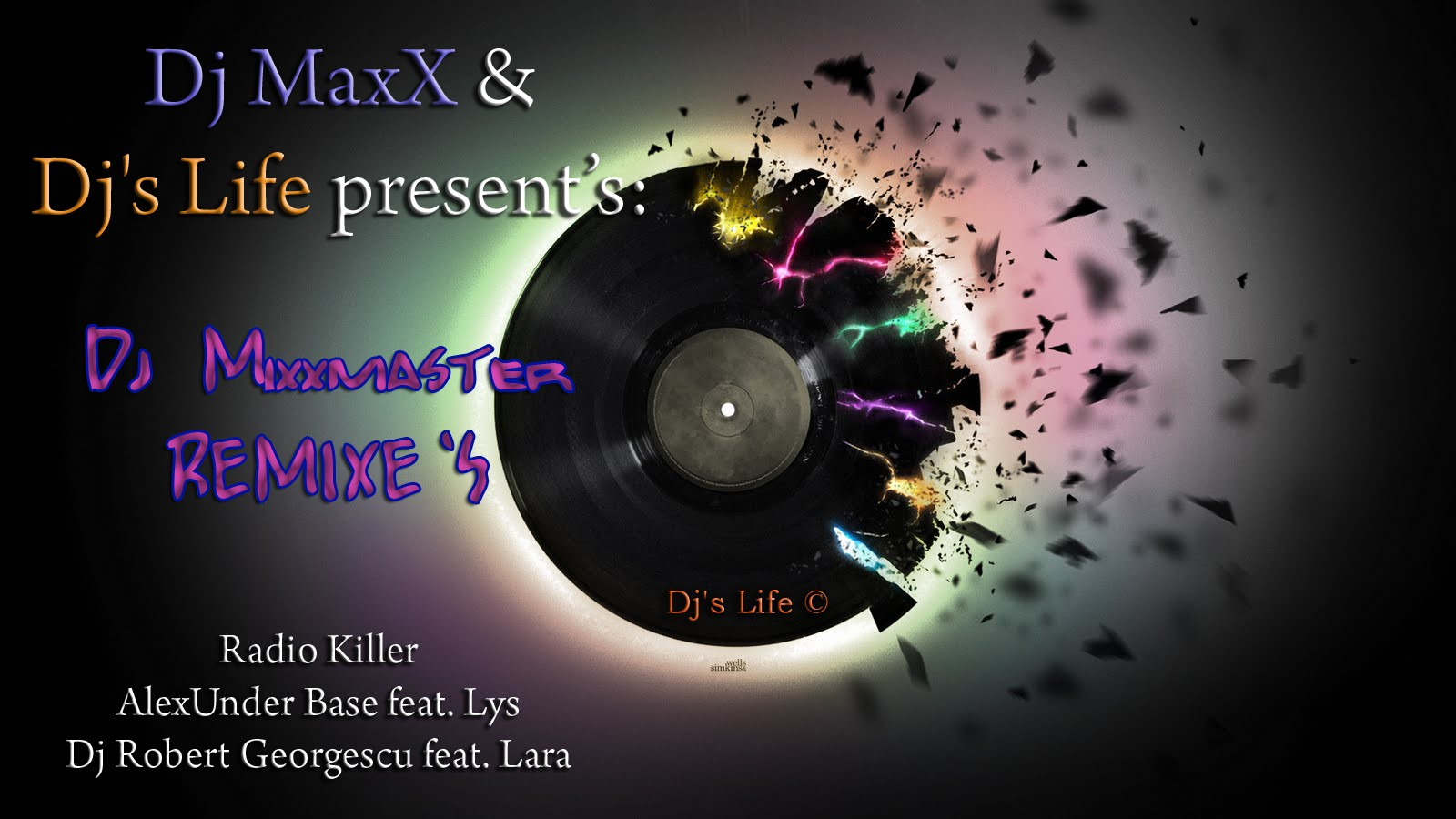 Dj MaxX present: Dj Mixxmaster Remixes