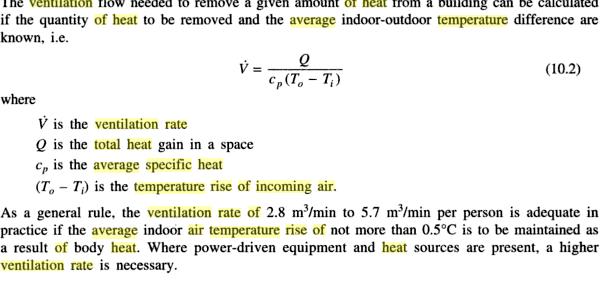 Transferts thermiques capacit thermique specifique moyenne - Capacite calorifique de l air ...