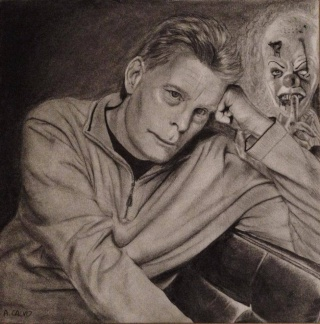 Dessin Stephen KING