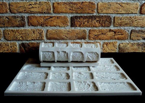 Резиновые формы для камня Zikam Stone
