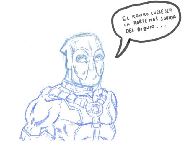 Como Dibujar A Deadpool (Mi Tutorial)