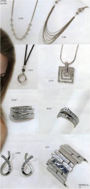 Catalogue bijoux FREDERIC M