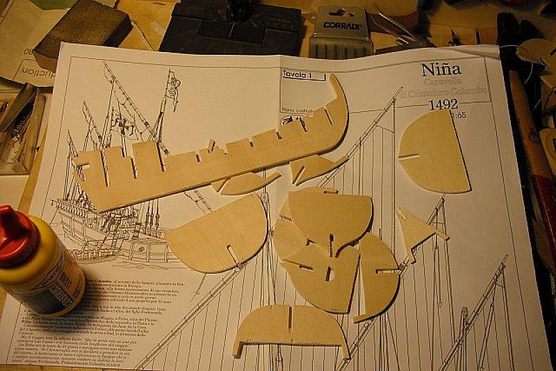 Caravella nina vip44 for Piani di idee per la costruzione di ponti