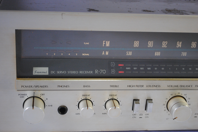 Sansui R 70 Receiver Used Sold