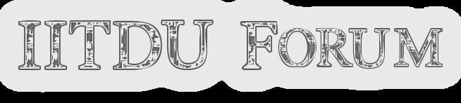 IITDU Forum