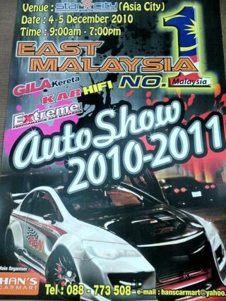 east malaysia auto show challenge 2010 at star city or asia city kota kinabalu sabah malaysia