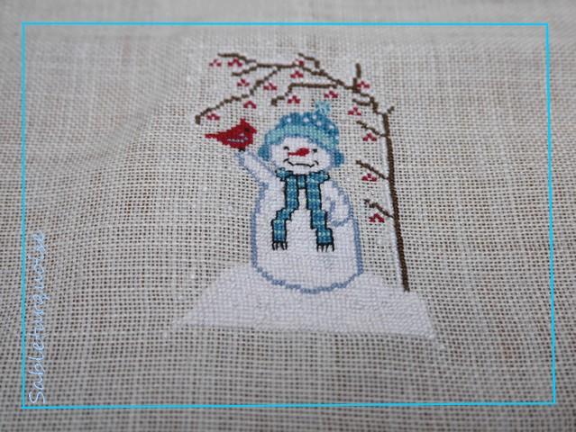 Un bonhomme de neige !