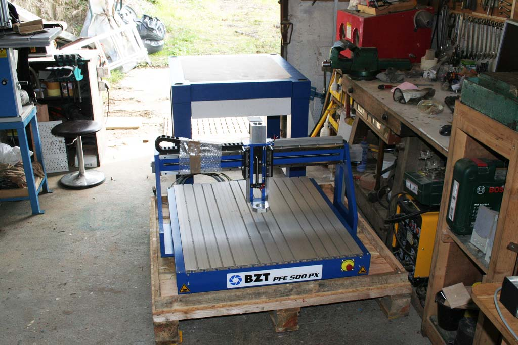 a new cnc in the workshop bzt pfe 500 px