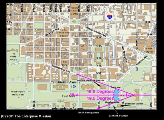 Washington dc y su simbologia masonica - Planos de la casa blanca ...