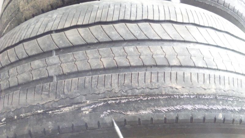 Pneus us s l 39 int rieur au secours des avis for Usure pneu interieur