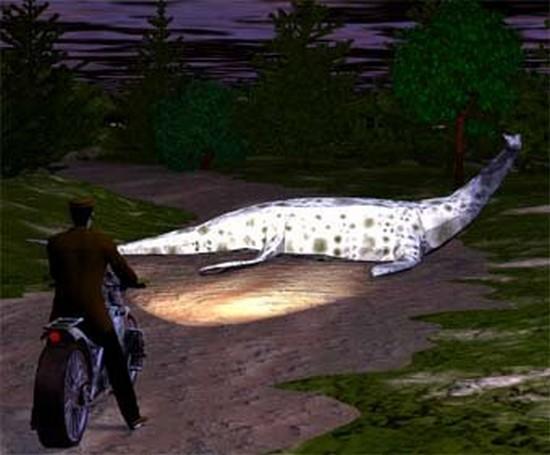 Cryptozoologie Inverness Drumnadrochit 5 janvier january 1934 motocyclette Arthur Grant motocyclette loch ness cryptide hybride dinosaure otarie