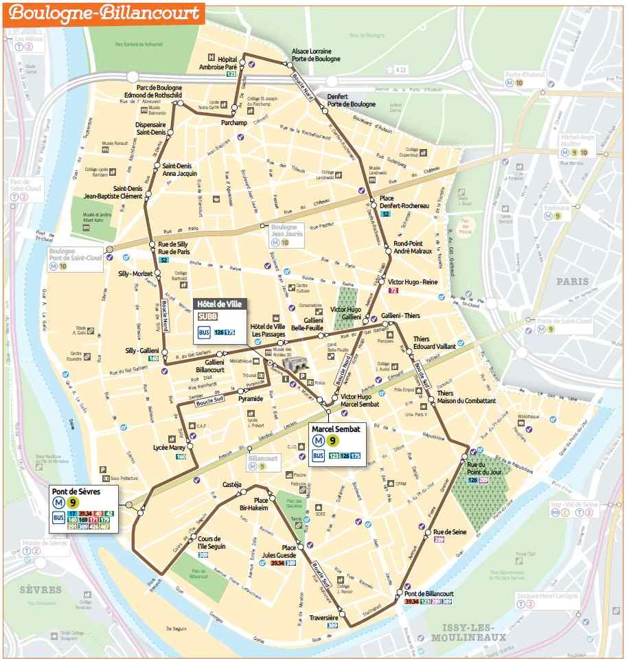 Subb service urbain de boulogne billancourt for Piscine de boulogne billancourt horaires