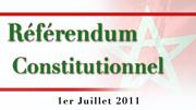 UN OEIL SUR LA NOUVELLE CONSTITUTION MAROCAINE