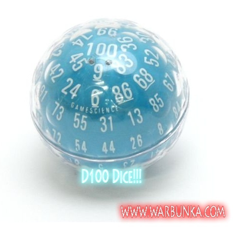 100 sided dice generator d&d