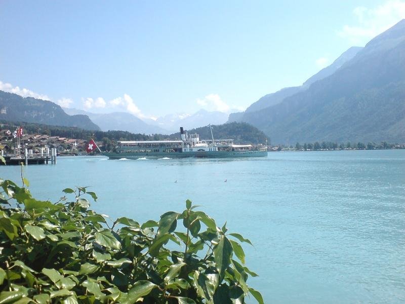 Lacs suisses - Lac de brienz ...