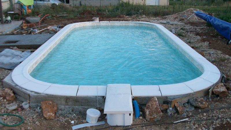 Montage piscine waterair - Margelle piscine waterair ...