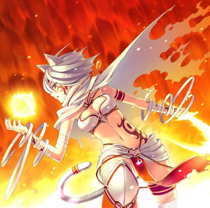 Anime Characters Using Fire : Magieschule