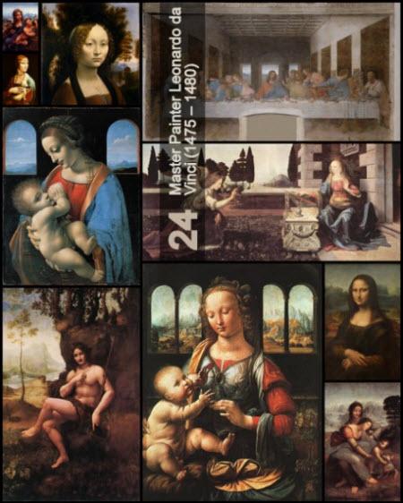 Master Painter Leonardo da Vinci (1475 � 1480)