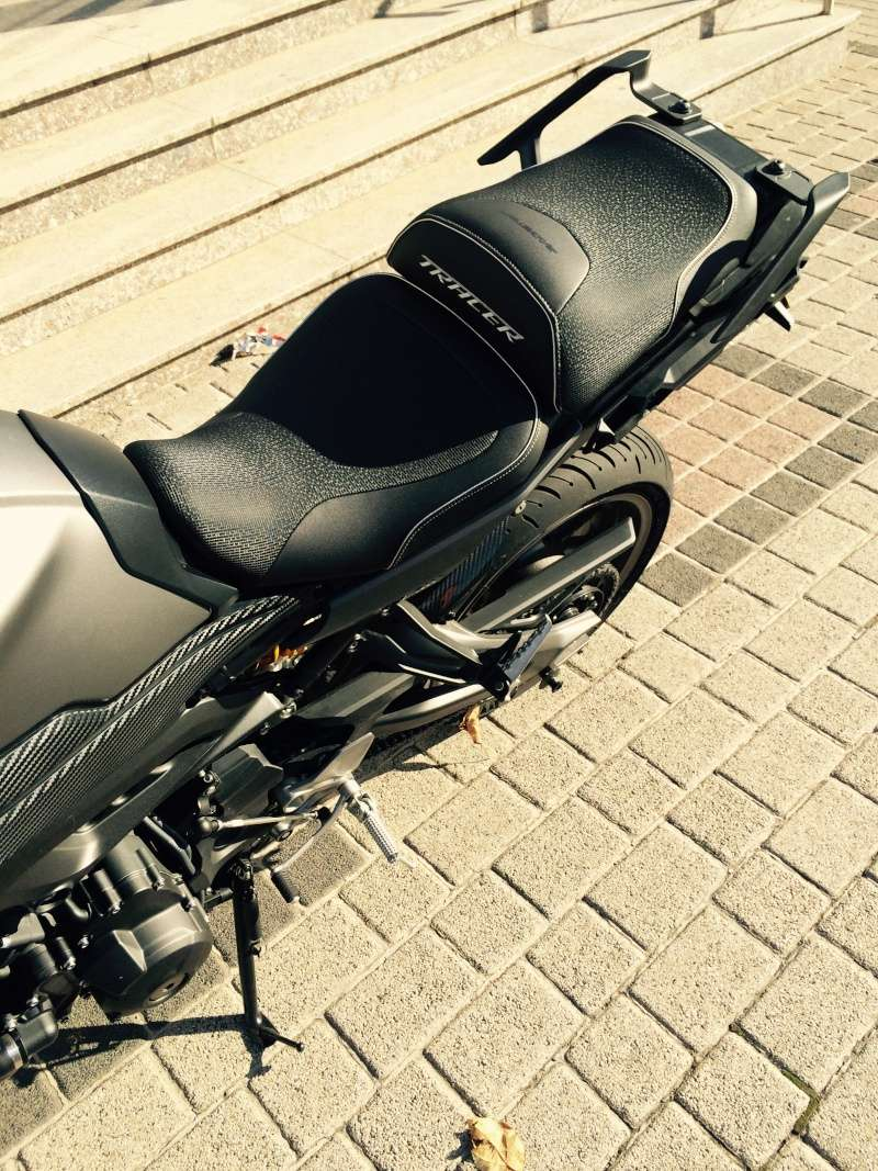 selle bagster ready pour yamaha mt 09 tracer. Black Bedroom Furniture Sets. Home Design Ideas