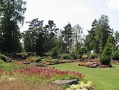 Le jardin de la Chancellerie