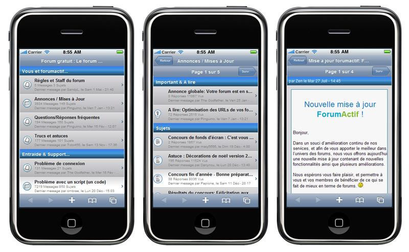 Comment participer au forum depuis un mobile/smartphone ... ? MiGw5