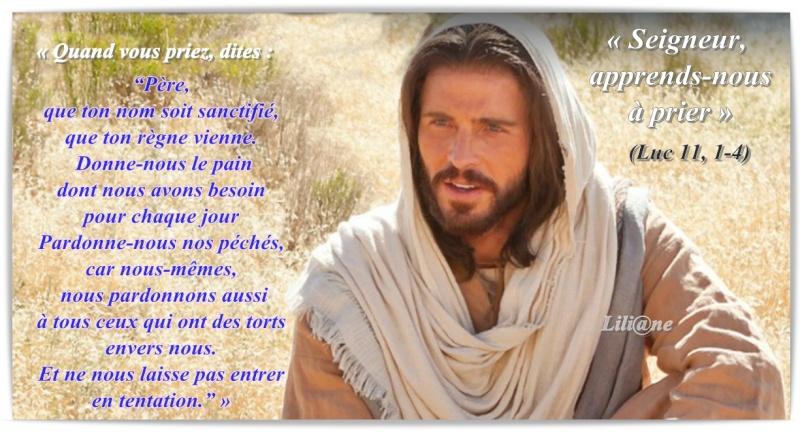 Seigneur, apprends-nous à prier » Luc 11, 1-4