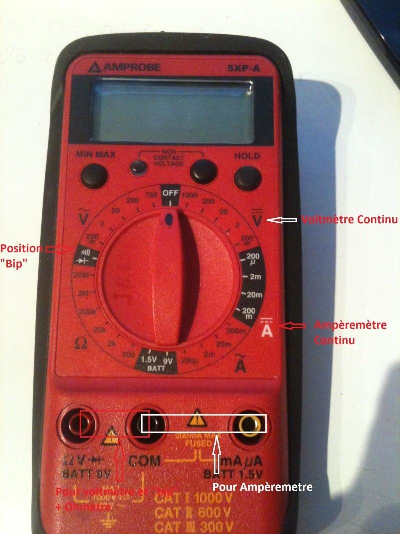 Utilisation simple d 39 un multim tre dans l 39 automobile for Utilisation d un ohmmetre