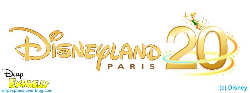 Logos Du 20ème Anniversaire De Disneyland Paris At Dlrp Actualité