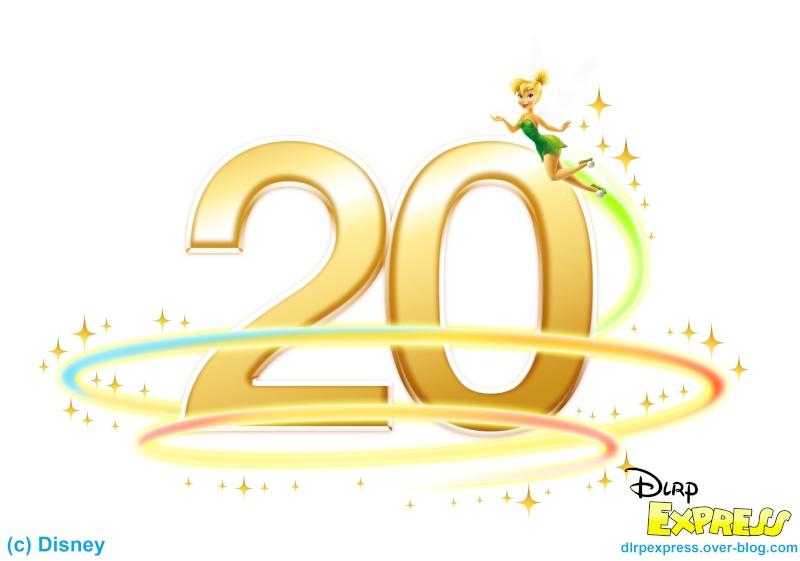 20 u00e8me anniversaire de disneyland paris   u00e0 partir du 1er Disneyland 45th Anniversary Disneyland 35th Anniversary