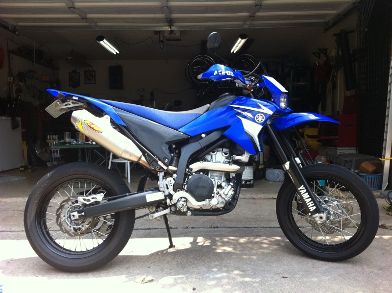 08 wr250x coming from flower mound texas