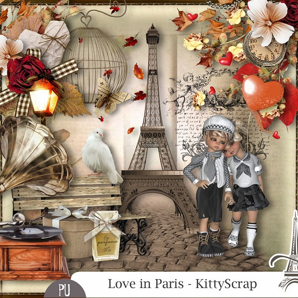 Love is Paris de Kittyscrap previe25