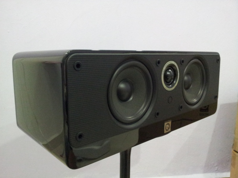British Q Acoustics 2000ci Centre Speaker Nos