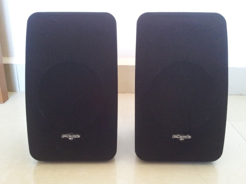Polk Audio M Series M1 Monitor Speaker With Wall Mounting